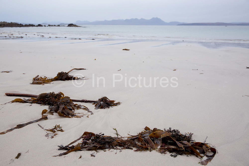 Mellon Udrigle beach on the 5th November 2018 in Mellon Udrigle, Scotland in the United Kingdom. Mellon Udrigle is a small remote coastal tourist, fishing and crofting hamlet on the north west coast of Ross-shire, Scottish Highlands.