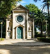 Carlos Alberto Chapel in Jardins do Palacio de Cristal (Crystal Palace Gardens), Porto, Portugal