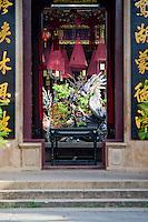 entrance to Phuoc Kien temple in Hoi An, Vietnam.