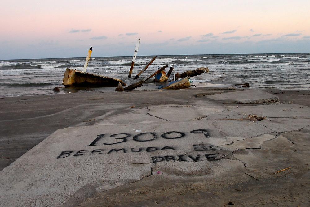 Hurricane Ike, September 2008, Galveston, Texas