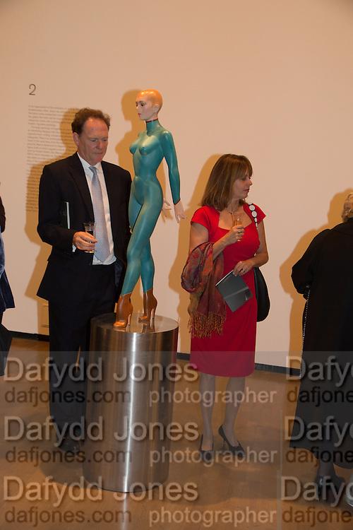 JAMES DALLAS; ANNABEL DALLAS, Gala Opening of RA Now. Royal Academy of Arts,  8 October 2012.