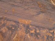 Image of a petroglyph, Anasazi rock art, found in the remote Comb Ridge, San Juan County, Utah.