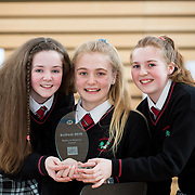 27.04.2016.          <br />  Kalin Foy and Ciara Coyle win SciFest@LIT<br /> Kalin Foy and Ciara Coyle from Colaiste Chiarain Croom to represent Limerick at Ireland's largest science competition.<br /> <br /> Pictured are Hazelwood College students, Aoife O'Callaghan, Ciara McCarthy and Roisin Normoyle' who's project, Does wisdom come with age?, won the EPISTEM best use of maths project<br /> <br /> Of the over 110 projects exhibited at SciFest@LIT 2016, the top prize on the day went to Kalin Foy and Ciara Coyle from Colaiste Chiarain Croom for their project, 'To design and manufacture wireless trailer lights'. The runner-up prize went to a team from John the Baptist Community School, Hospital with their project on 'Educating the Youth of Ireland about Farm Safety'.    Picture: Alan Place