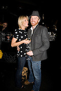 JENNI FALCONER AND JAMES MIDGLEY, INTO THE HOODS - a hip hop dance musical -opening  at the Novello Theatre on The Aldwych. After- party at TAMARAI at 167 Drury Lane, London. 27 March 2008.   *** Local Caption *** -DO NOT ARCHIVE-© Copyright Photograph by Dafydd Jones. 248 Clapham Rd. London SW9 0PZ. Tel 0207 820 0771. www.dafjones.com.