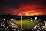 LOS ANGELES, CALIFORNIA - JULY 22: A general view during the game between the Los Angeles Dodgers and the San Francisco Giants at Dodger Stadium on July 22, 2021 in Los Angeles, California. (Photo by Katelyn Mulcahy/Getty Images)