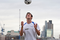 © under license to London News Pictures. 03/11/2010. Tottenham Hotspur football player Gareth Bale launches the new BT football fan-site at a press call on London's South Bank.