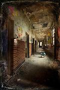Corridor in the children's wards at West Park abandoned Asylum http://www.vivecakohphotography.co.uk/2011/03/22/suffer-little-children/