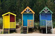Beach huts in Wells-Next-The-Sea, Norfolk, United Kingdom