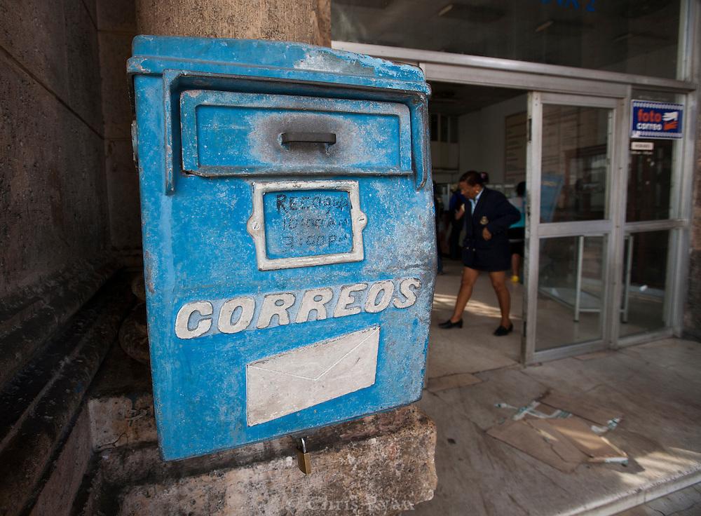 Post office, Havana, Cuba