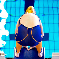 The Netherlands, Amsterdam, 18-04-2009.<br /> Swimming, Amsterdam Swim Cup.<br /> Start.<br /> Photo: Klaas Jan van der Weij