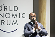 Khaled Igué, Founder and President, Club 2030 Afrique, Benin; Young Global Leader speaking during the session Promoting Female Leadership at the World Forum World Economic Forum on Africa 2019. Copyright by World Economic Forum / Greg Beadle