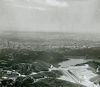 1960 Lake Hollywood and Dam