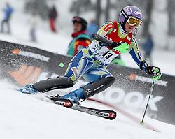 04.02.2011, Arber Zwiesel, GER, FIS World Cup Ski Alpin, Lady, Slalom, im Bild Tina Maze (SLO, #13) // Tina Maze (SLO) // during FIS Ski Worldcup ladies Slalom at Arber Zwiesel, Germany on 04/02/2011. EXPA Pictures © 2011, PhotoCredit: EXPA/ R. Hackl