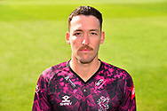 Head shot of Paul van Meekeren in the Vitality Blast kit during the 2019 media day at Somerset County Cricket Club at the Cooper Associates County Ground, Taunton, United Kingdom on 2 April 2019.