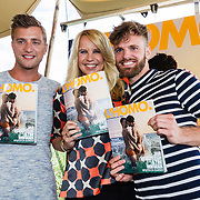 NLD/Amsterdam20160627 - Presentatie L'Homo 2016, Linda de Mol met Jan Versteegh en Tim Hofman