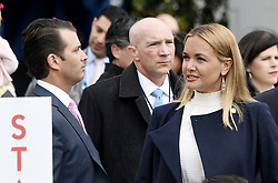 Vanessa Haydon Trump and Donald Trump Jr., who filed for divorce attend the 140th Easter Egg Roll on the South Lawn of the White House in Washington, DC on Monday, April 2, 2018. Photo by Olivier Douliery/Abaca Press