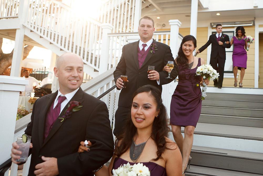 Sunita & Brian's Monterey wedding.October 9, 2011.The Perry House, Monterey, California. .scottmacdonaldweddings.com