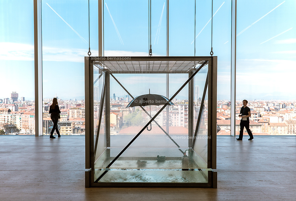 Milan, Fondazione Prada ,Damien Hirst, Tears for Everybody's Looking at You