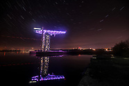Titan Cranes of Glasgow