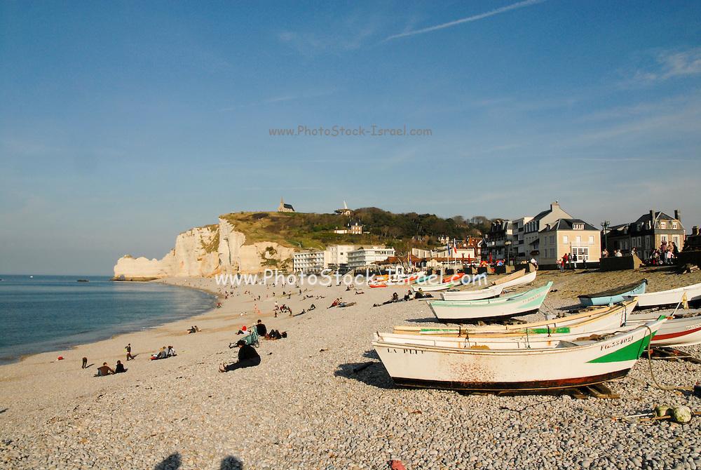 France, Normandy, Etretat