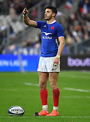 France's Antoine Ntamack during the Six Nations rugby union tournament match between France and England at the stade de France, in Saint Denis, on the outskirts of Paris, on February 2, 2020. Photo by Christian Liewig /ABACAPRESS.COM