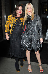 David Bailey and Catherine Bailey at the British Vogue One Year Anniversary Celebration, National Portrait Gallery, St Martin's Place, London, England, UK, on Thursday 08 November 2018. 08 Nov 2018 Pictured: Jade Jagger and Georgia May Jagger. Photo credit: CAN/Capital Pictures / MEGA TheMegaAgency.com +1 888 505 6342