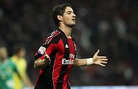 Fotball<br /> Italia<br /> Foto: Insidefoto/Digitalsport<br /> NORWAY ONLY<br /> <br /> 16.10.2010<br /> Milan v Chieco 3:1<br /> <br /> L'esultanza di PATO dopo il secondo gol