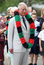 The Prince of Wales attends a Gurkha Reception at the Edinburgh Palace in Bandar Seri Begawan, Brunei.