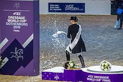 Werth Isabell, GER, De Vos Ingmar, BEL<br /> LONGINES FEI World Cup™ Finals Gothenburg 2019<br /> © Hippo Foto - Dirk Caremans<br /> 06/04/2019