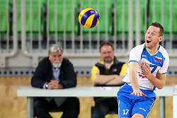Tine Urnaut of Slovenia at exhibition game between Slovenia and Iran, on May 15, 2017 in SRC Stozice, Ljubljana, Slovenia. Photo by Matic Klansek Velej / Sportida