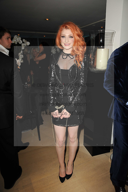 NICOLA ROBERTS at the launch party for 'Promise', a new capsule ring collection created by Cheryl Cole and de Grisogono held at Nobu, Park Lane, London on 29th September 2010.
