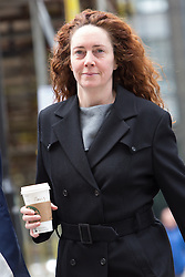 LNP Weekly Highlights 21/03/14 © Licensed to London News Pictures. 17/03/2014. London, UK. Rebekah Brooks arrives at The Old Bailey in London this morning, 17th March 2014 for the Phone Hacking Trial. Photo credit : Vickie Flores/LNP