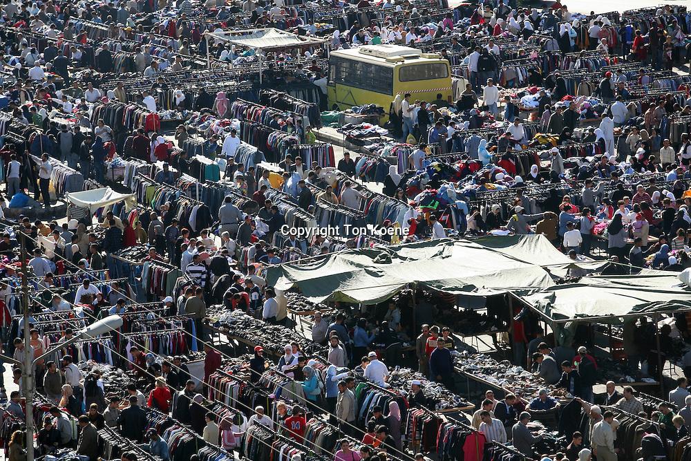 Outdoor markets in Amman, Jordan