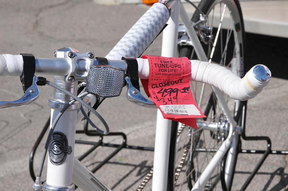 Closeout bike for sale - Spring 2012 Bicycle Swap Meet - Tucson, Arizona. Bike-tography by Martha Retallick.