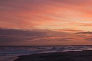 Crimson Sky over Atlantic at dusk