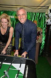 DAVID GINOLA at 'The World's First Fabulous Fund Fair' in aid of the Naked Heart Foundation hosted by Natalia Vodianova and Karlie Kloss at The Roundhouse, Chalk Farm Road, London on 24th February 2015.