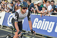 Mark Cavendish of Great Britain and Team Dimension Data following the Tour of Britain 2016 stage 8 , London, United Kingdom on 11 September 2016. Photo by Mark Davies.