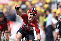 Sykkel<br /> Foto: PhotoNews/Digitalsport<br /> NORWAY ONLY<br /> <br /> GREIPEL Andre of Lotto Soudal during the stage 2 of the 102nd edition of the Tour de France 2015 with start in Utrecht and finish in Zeeland , Netherlands (166 kms) *** UTRECHT, NETHERLANDS - 5/07/2015
