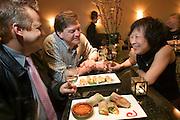 Annalien Vietnamese Restaurant in downtown Napa, California. Napa Valley. MODEL RELEASED..