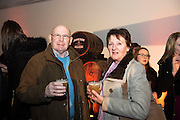 Ex Jameson staff Ted Duffy and his wife Bridie  at The Jameson The Black Barrel Craft Series  at Old printing works, Market Street with music by Corner boy.  Photo:Andrew Downes