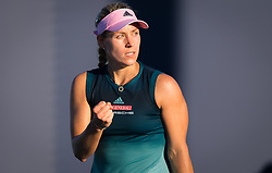 March 22, 2019 - Miami, FLORIDA, USA - Angelique Kerber of Germany in action during the second-round at the 2019 Miami Open WTA Premier Mandatory tennis tournament (Credit Image: © AFP7 via ZUMA Wire)