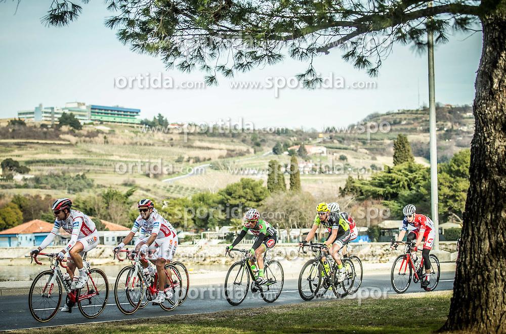 ORRICO Davide (ITA) of Sangemini - Mg. K Vis, CHIRICO Luca (ITA) of Torku Sekerspor during the UCI Class 1.2 professional race 4th Grand Prix Izola, on February 26, 2017 in Izola / Isola, Slovenia. Photo by Vid Ponikvar / Sportida