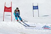 Arnold Forrer, Teilnehmer beim Renzo's Schneeplausch vom 23. Januar 2016 in Vella, Gemeinde Lumnezia.