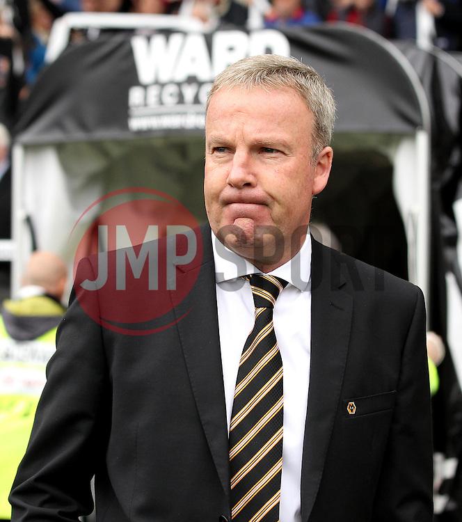 Wolverhampton Wanderers Manager Kenny Jackett - Mandatory byline: Robbie Stephenson/JMP - 07966 386802 - 18/10/2015 - FOOTBALL - iPro Stadium - Derby, England - Derby County v Wolverhampton Wanderers - Sky Bet Championship