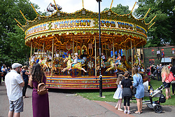 Funfair, Chapelfield Gardens, Norwich UK