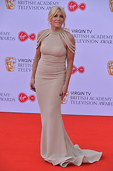 © Licensed to London News Pictures. 13/05/2018. London, UK. MICHELLE COLLINS arrives for the Virgin TV British Academy (BAFTA) Television Awards. Photo credit: Ray Tang/LNP