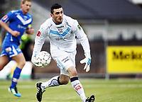 Fotball , 9. april 2012 , Adeccoligaen , 1. divisjon , Sarpsborg - Start 4-4<br /> <br /> Haraldur Björnsson , Sarpsborg