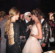 Allegra Versace, Karl Lagerfeld and Charlotte Casiraghi..2011 amfAR's Cinema Against AIDS Gala Inside..2011 Cannes Film Festival..Hotel Du Cap..Cap D'Antibes, France..Thursday, May 19, 2011..Photo By CelebrityVibe.com..To license this image please call (212) 410 5354; or.Email: CelebrityVibe@gmail.com ;.website: www.CelebrityVibe.com.**EXCLUSIVE**