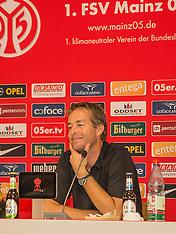 18 Sep 2014 1. FSV Mainz 05 Press Conference