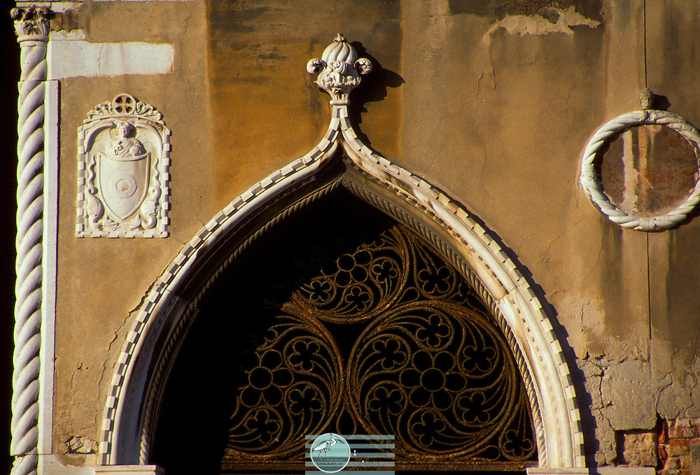 Old world architecture captured in doors and windows from Mexico and Europe.  Walk back in time through worn textures and colors both muted and vibrant. Venice (Italian: Venezia [veˈnɛttsja] ( listen)[1]alternative obsolete form: Vinegia; Venetian: Venexia [veˈnɛsja]; Latin: Venetia) is a city in northeastern Italy sited on a group of 118 small islands separated by canals and linked by bridges.[2] It is located in the marshy Venetian Lagoon which stretches along the shoreline, between the mouths of the Po and the Piave Rivers. Venice is renowned for the beauty of its setting, its architecture and its artworks.[2] The city in its entirety is listed as a World Heritage Site, along with its lagoon.[2]